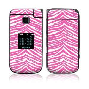 Samsung Alias 2 Decal Skin Sticker   Pink Zebra