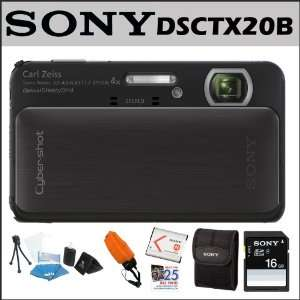 Sony Class 4 16GB SDHC Card + Sony Digital Camera Case + Accessory Kit