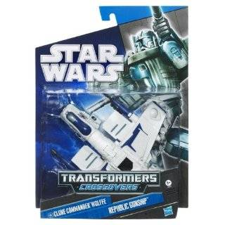 Star Wars 2010 Transformers Crossovers Clone Commander Wolffe to