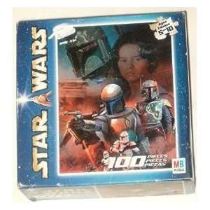 Star Wars 100 Piece Boba Fett Puzzle Toys & Games