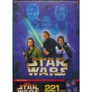 Star Wars 221 Piece Mural Puzzle Scene 4 Trilogy Toys
