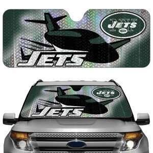 New York Jets NFL Auto Sun Shade