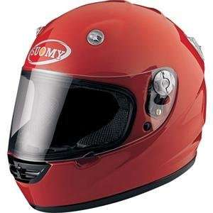 Suomy Vandal Solid Helmet   X Large/Red Automotive