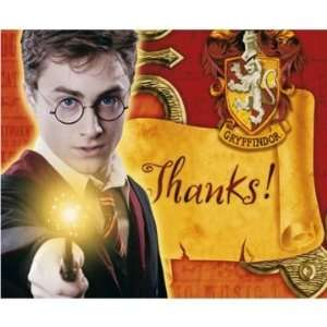 Harry Potter Thank You Cards (8 count) Toys & Games