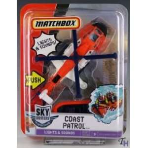 Matchbox Skybusters Missions Coast Patrol Chopper Model Toys & Games