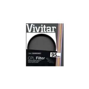Vivitar 95mm Circular Polarizer Glass Filter Camera