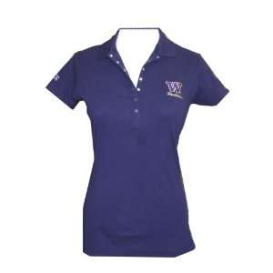 Huskies Remarkable Womens Polo Shirt by Antigua
