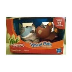 Wheel Pals Zoominals Animal Tracks (Farm) Sheep & Horse Toys & Games
