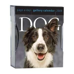 Dog Gallery Calendar 2009 (Page a Day Gallery Calendar