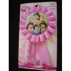 Disney Princess Birthday Girl Guest of Honor Ribbon