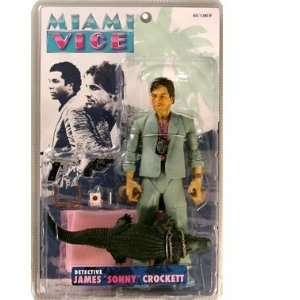 Miami Vice Sonny Rare White Suit with Alligator Toys