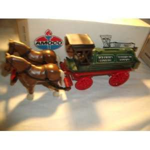 Ertl Amaco Red Crown Gasoline Horse and Tank Wagon Bank Toys & Games