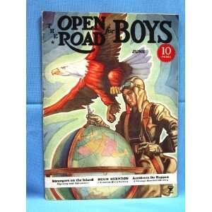 THE OPEN ROAD FOR BOYS (JUNE 1935) Magazine Vol. XVII, No