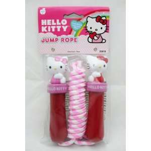 Licensed Hello Kitty Kids 7 Feet Long Pink Jump Rope: Everything Else