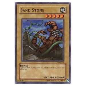 YuGiOh Legend of Blue Eyes White Dragon Sand Stone LOB 109 Common [Toy