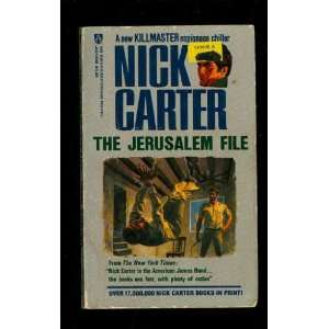 The Jerusalem File (9780426184706) Nick Carter Books