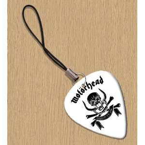 Motorhead March Or Die Premium Guitar Pick Phone Charm