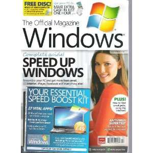 Official Magazine (Complete Guide Speed Up Windows, March 2011) Books