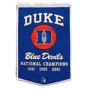 Duke Blue Devils NCAA Dynasty Banner (24x36) Sports