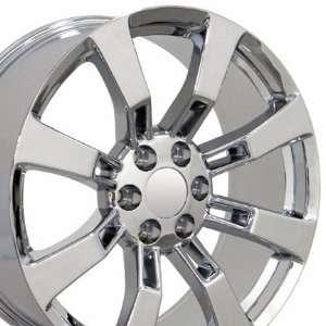 Escalade Style Wheel Fits Cadillac   Chrome 20x8.5