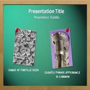 Powder Metallurgy Powerpoint Template   Powder Metallurgy