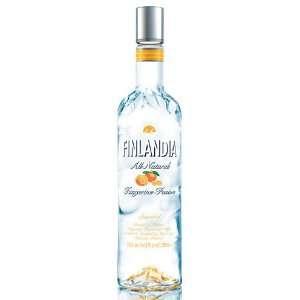 Finlandia Vodka Tangerine 1 Liter Grocery & Gourmet Food