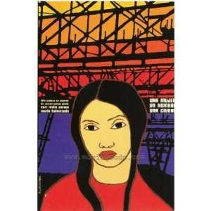 Una Mujer, un Hombre, una Ciudad Poster Movie Foreign