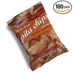 Kangaroo Muti Grain Garden Spice Pita Chips, 100 Calorie Pack, 0.9