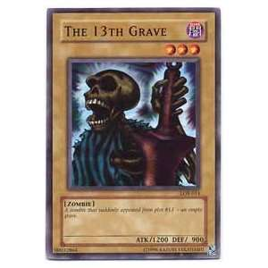 YuGiOh Legend of Blue Eyes White Dragon The 13th Grave LOB