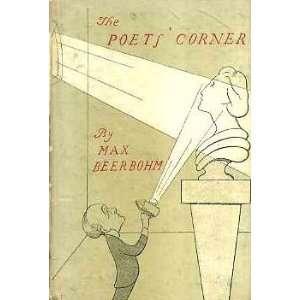 The poets corner, (The King penguin books): Max Beerbohm