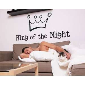 King of the Night   Vinyl Wall Decal