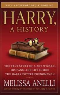 Harry, A Hisory   Now Updaed wih J.K. Rowling Inerview, New