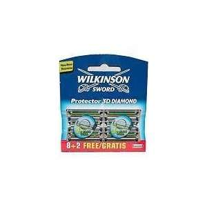 Wilkinson Sword 3D Diamond Protector Razor Blades 10 Pack: .co