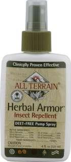 Herbal Armor Insect Repellent Spray Deet Free    4 fl oz   Vitacost
