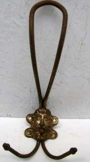 Antique Hat Coat Hanger Hook Primitive Hooks Hall Tree