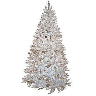 Tidings Prince Edward Fir Artificial Prelit Christmas Tree, 7.5 feet