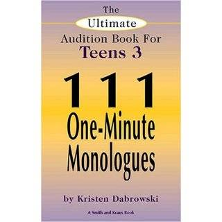 and Wacky 60 One Minute Monologues for Kids: 60 One Minute Monologues
