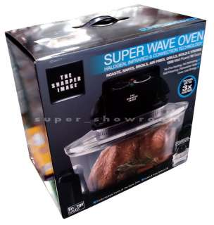 New Sharper Image Super Wave Oven Superwave Convection Halogen