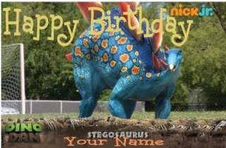 Dino Dan Stegosaurus Cake