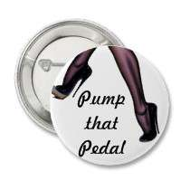 Pump that Pedal Buttons by KKsweets