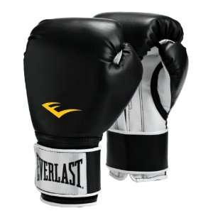 Pro Style Boxing Gloves Black 14oz Sold Per PR Sports