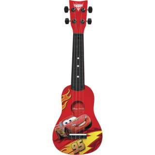 Disney Pixar Cars 2 Kid?s Nylon String Mini Guitar