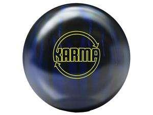 Brunswick Karma Black/Blue Solid Bowling Balls