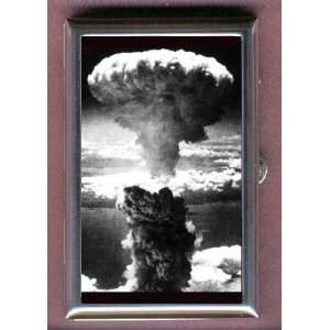 ATOMIC BOMB NUCLEAR MUSHROOM CLOUD Coin, Mint or Pill Box: Made in USA