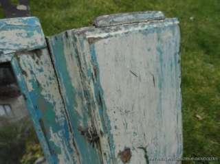ANTIQUE SHABBY CHIC WOODEN WALL CABINET MIRROR BATHROOM SHELF