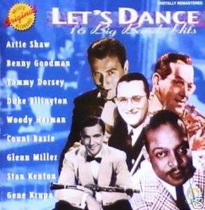 LETS DANCE   16 BIG BAND HITS   CD