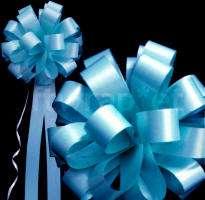 Organza Wedding Pew Bows Table Runners Tiffany Blue