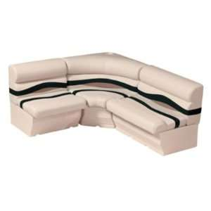 Pontoon Furniture   8 Wide Boat Rear Entry L Group: Sports & Outdoors
