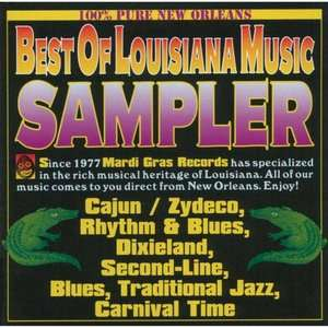Of Louisiana Music Sampler, Various Artists   Cajun World / Reggae