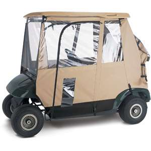 Classic Accessories Deluxe 3 Sided Golf Car Enclosure